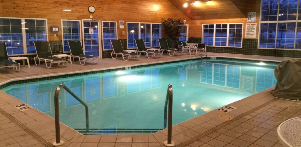 Relax In Our Heated Indoor Pool and Whirlpool